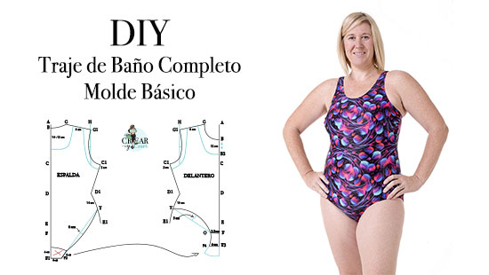 DIY Traje de Baño Completo | Patronaje