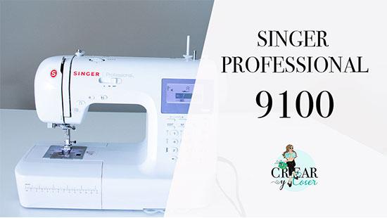 Máquina de Coser Singer 9100