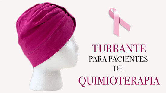 Turbante para Pacientes de Quimioterapia