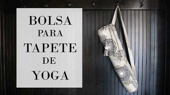 Cómo Hacer Bolsa para Tapete de Yoga con Bolsillos